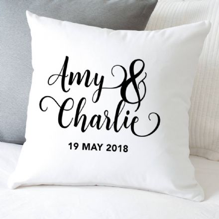 Personalised Couple's Cushion